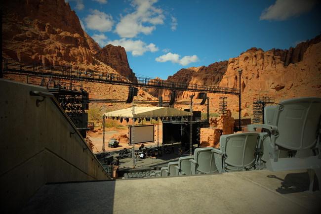 Tuacahn Amphitheatre, as seen in the award-winning 30-second TV spot