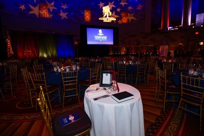 The Courage Awards & Benefit Dinner is returning to Gotham Hall in New York City May 16. The event showcases warriors' transition to civilian life and recognizes supporters that honor and empower wounded veterans.