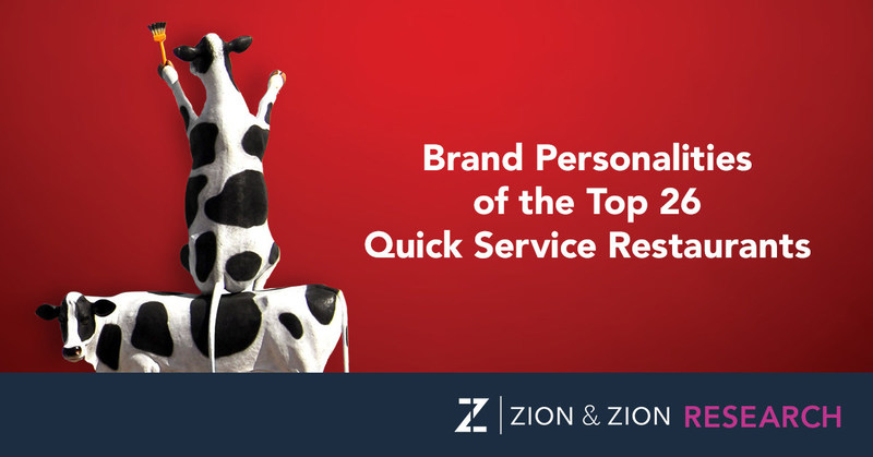 Zion & Zion Research Study - Brand Personalities of the Top 26 Quick Service Restaurants