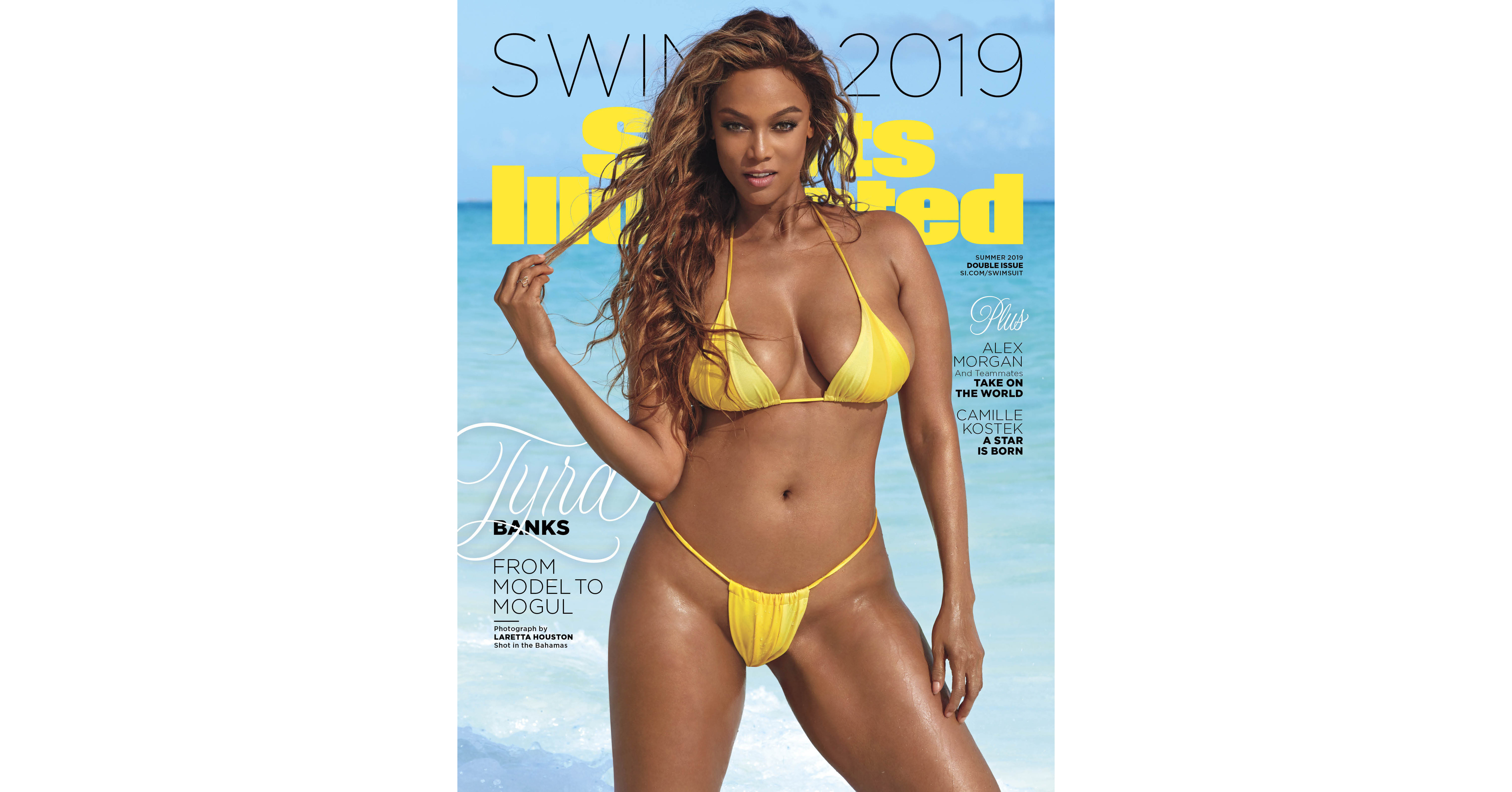 6cd7bd48049fc Tyra Banks, Alex Morgan And Camille Kostek Are Revealed As Sports  Illustrated Swimsuit's 2019 Cover Models; Each Get Their Own Cover