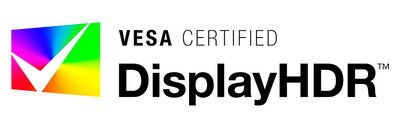 VESA Certified DisplayHDR brand logo.