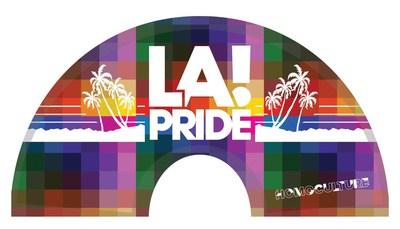 HomoCulture Gear exclusive LA Pride hand fan (colour) (CNW Group/HomoCulture)