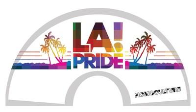 HomoCulture Gear exclusive LA Pride hand fan (white) (CNW Group/HomoCulture)