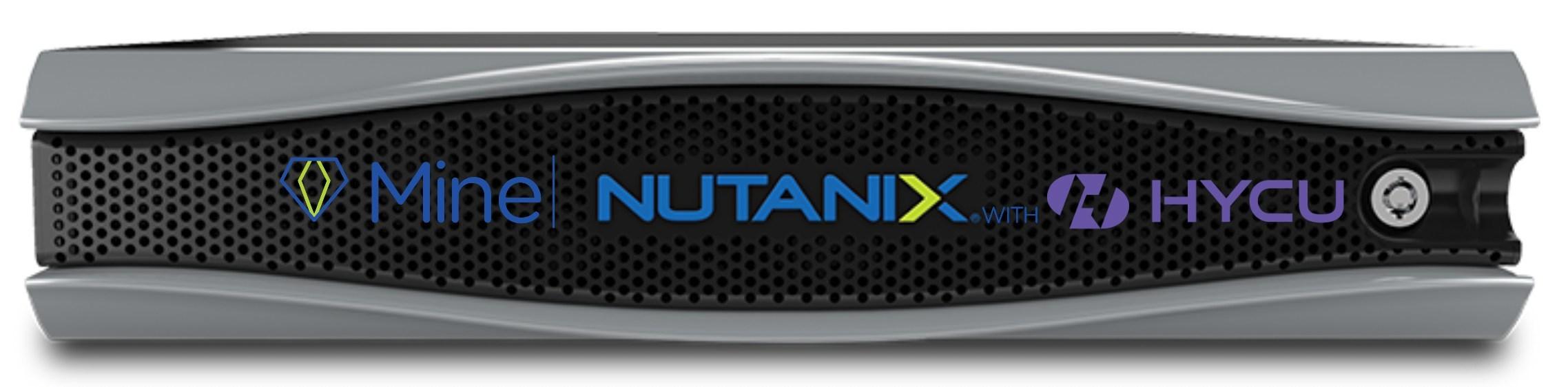 Nutanix Mine with HYCU To Simplify Secondary Storage and Make ...