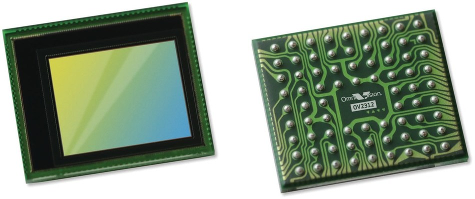 OV2312 - Automotive Industry's First and Smallest-in-Its-Class 2-Megapixel, RGB-IR Global Shutter Image Sensor Provides Advanced ASIL Functional Safety, Industry-Leading Near-Infrared Light Performance and Low Power Consumption