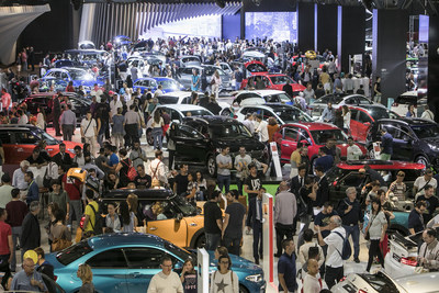 Automobile Barcelona makes history: 100 years, 45 car brands and 42 premieres