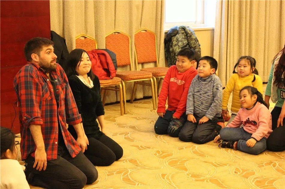 Children attended the inclusive theatre workshop