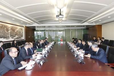 沙特国际电力和水务公司与三家中国企业签署战略协议