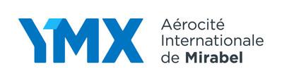 Logo : YMX Aérocité internationale de Mirabel (Groupe CNW/Aéroports de Montréal)