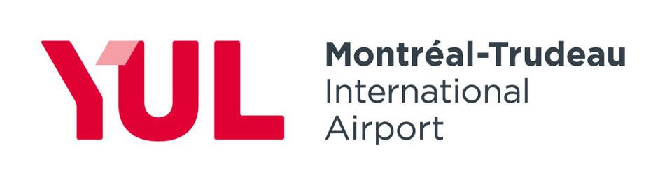 Logo: YUL Montréal-Trudeau International Airport (CNW Group/Aéroports de Montréal)