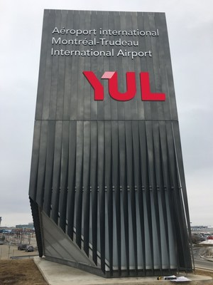 YUL and YMX: a new image for ADM Aéroports de Montréal (CNW Group/Aéroports de Montréal)