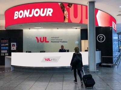 YUL et YMX : une nouvelle image pour ADM Aéroports de Montréal (Groupe CNW/Aéroports de Montréal)