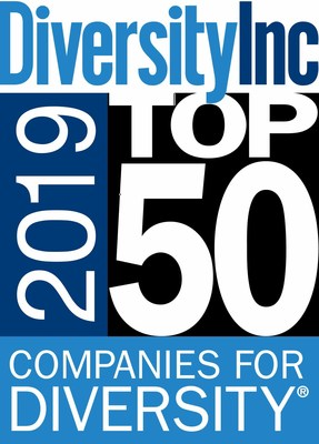 DiversityInc 2019 Top 50 Companies For Diversity Logo