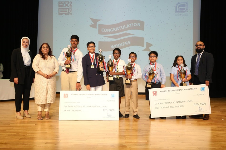 Kenken Championship 2018 Winners from the UAE.
