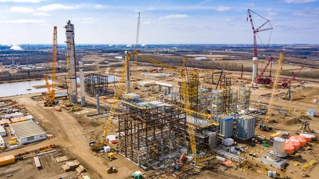 Inter Pipeline's Heartland Petrochemical Complex- April 2019 (CNW Group/Inter Pipeline Ltd.)
