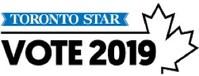 Toronto Star, Vote 2019 (CNW Group/The Toronto Star)