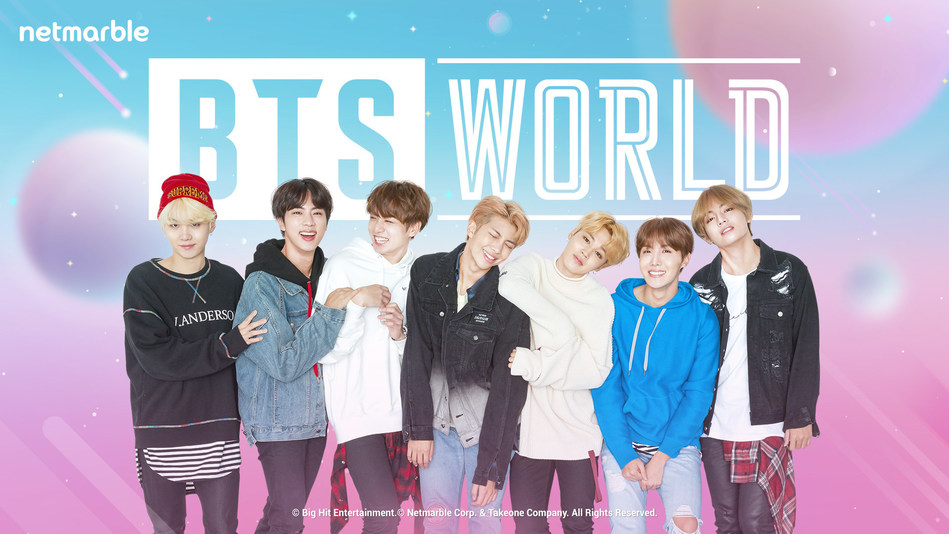 BTS WORLD Available for Pre-Registration Starting May 9
