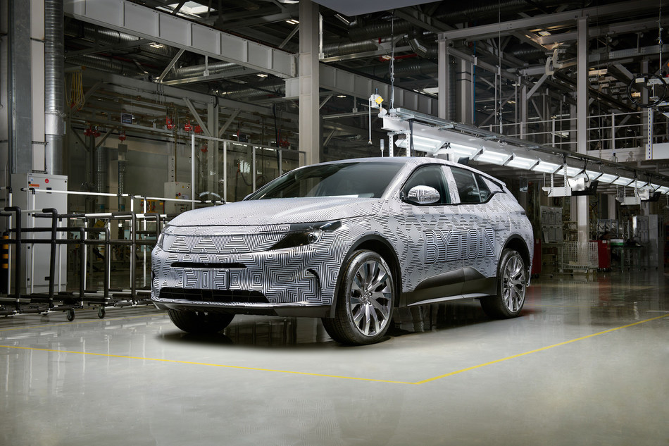 Trial production of the M-Byte SUV will start in the third quarter of 2019.