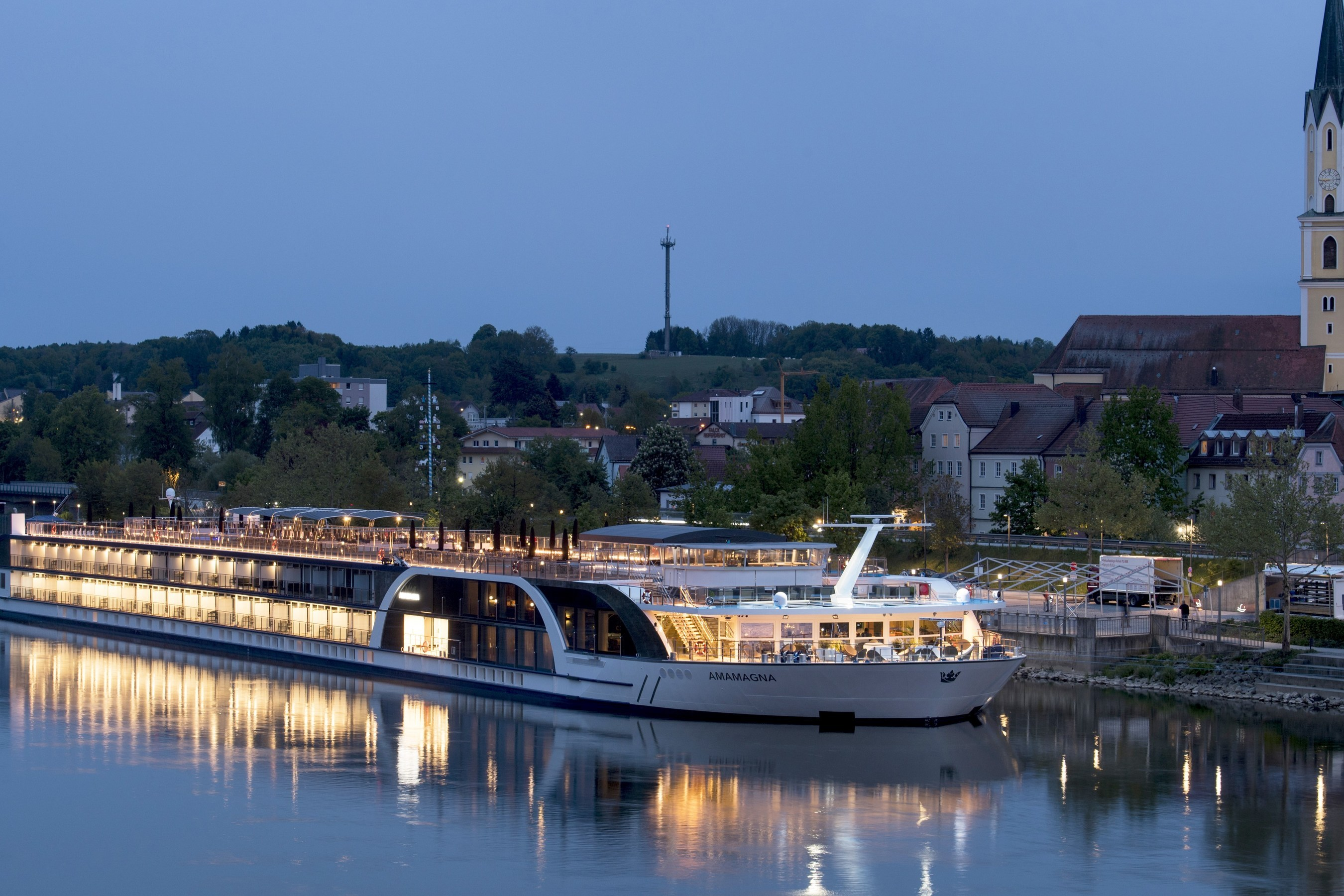 AmaWaterways' Revolutionary Ship, AmaMagna, Welcomes First