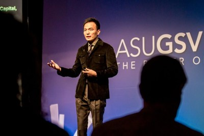 Derek Haoyang Li, Founder of Squirrel AI Learning by Yixue Group, was invited to the ASU+GSV International Education Summit, pointed out his vision of Future AI + Education
