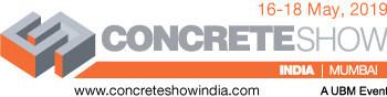 Concrete Show India logo (PRNewsfoto/UBM India Pvt. Ltd)