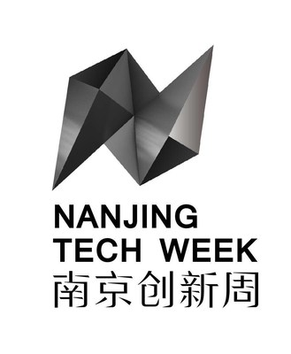 The image of Nanjing Tech Week. The multi-dimensional lens in the shape of the first letter