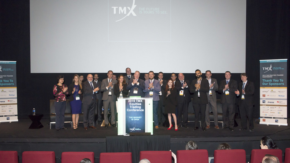 2019 TMX Equities Trading Conference Opens the Market (CNW Group/TMX Group Limited)