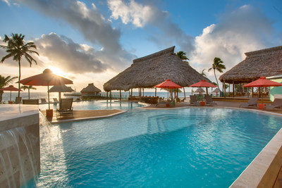 Costa Blu Beach Resort, a Trademark Collection by Wyndham hotel, is an all-suite, adults-only, beach-front resort located just offshore of the Belize Barrier Reef.