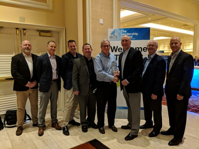 Bel Presents Digi-Key with Distributor of the Year for 2018 Award
