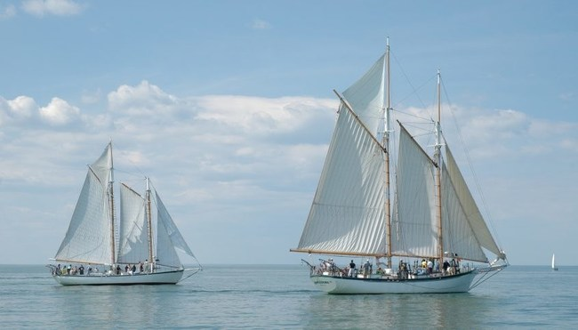 Appledore IV and Appledore V will join the Tall Ships Erie 2019 festival occurring Aug. 22-25, 2019