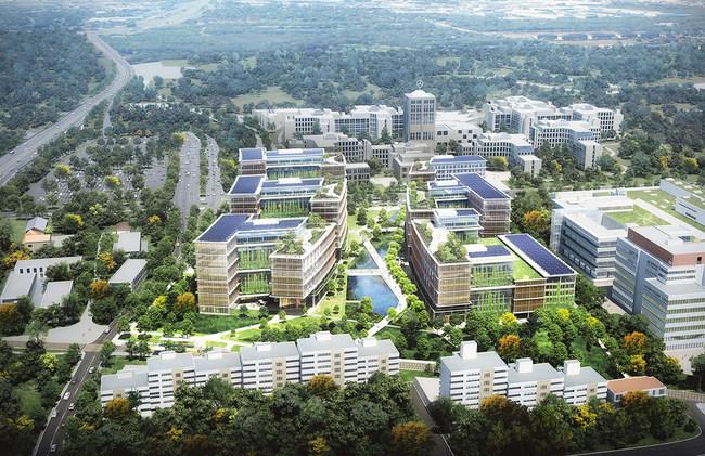 Plieninger Straße 140 Development rendering (Pickard Chilton)