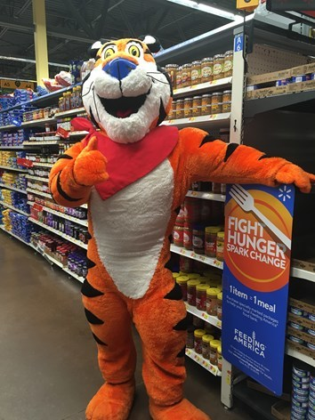 """Kellogg Company is proud to participate again this year in Walmart's """"Fight Hunger. Spark Change.""""campaign."""