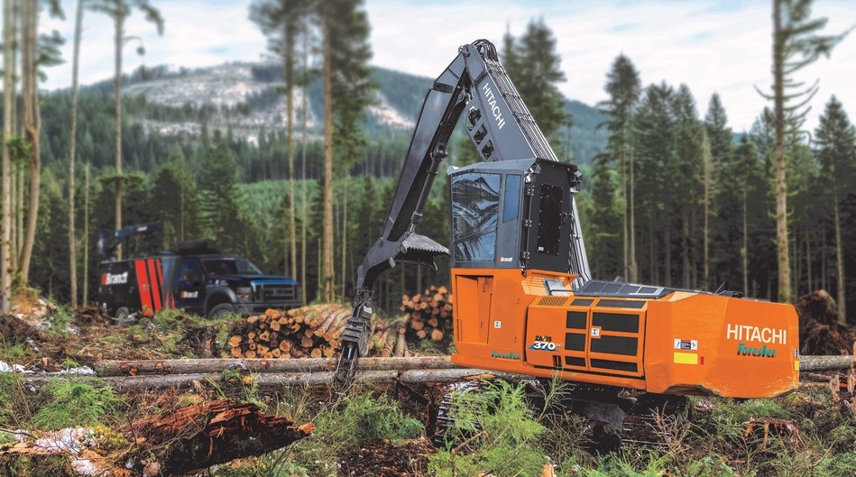 Hitachi Names Brandt New Dealer for Forestry Products. (CNW Group/Brandt Tractor Ltd.)