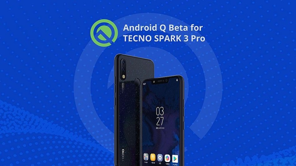 TECNO is one of the first 13 brands joining Android Q beta.