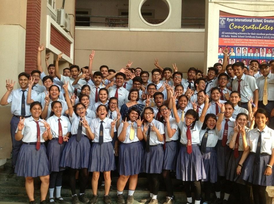 Students of Ryan International Group of Schools shatter all records (PRNewsfoto/Ryan International Group)