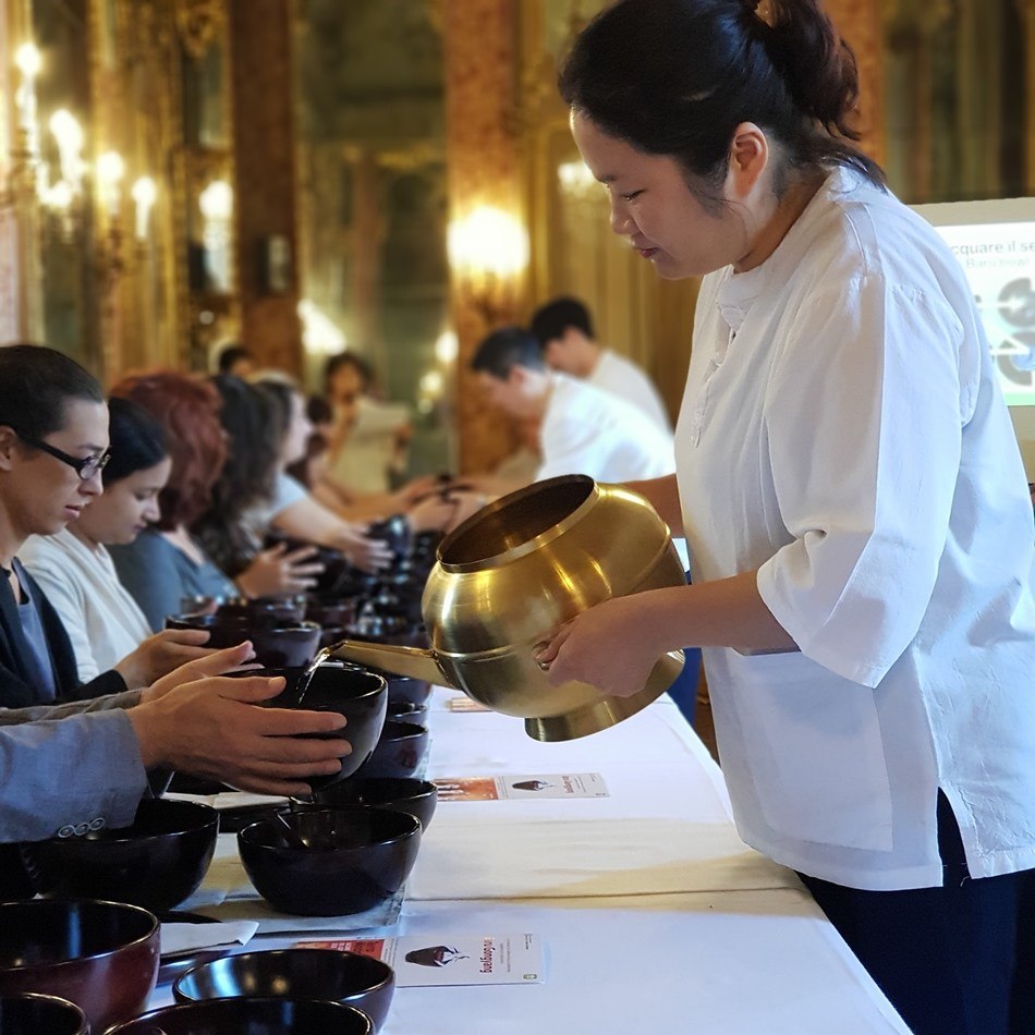 "Korea's Temple food, the tastes of seasonal vegetables will be at ""2019 Korea Week in Torino."""