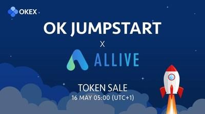 OK Jumpstart vai lançar segunda venda de tokens para o ALLIVE (ALV) na próxima semana (PRNewsfoto/OKEx)