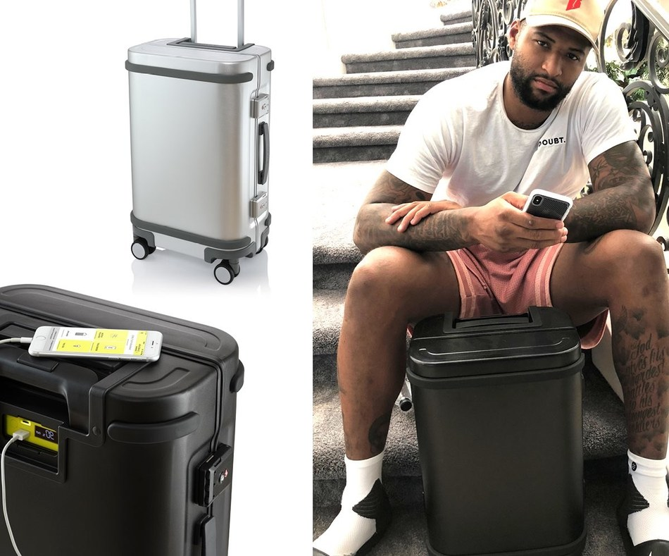 NBA All-Star DeMarcus Cousins, ambassador to Samsara Luggage