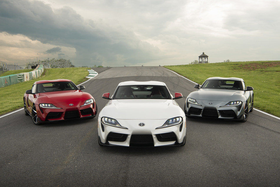 The 2020 GR Supra is ready for the road