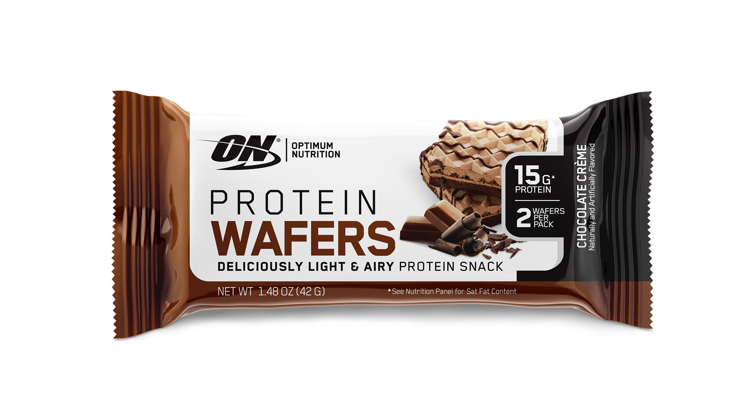 OPTIMUM NUTRITION Introduces Sweet, Crispy Protein Wafers in