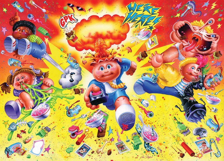 FYE and Garbage Pail Kids Partner for Consumables Collaboration