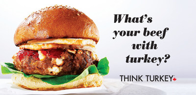 What's your beef with turkey? (CNW Group/Turkey Farmers of Canada (TFC))