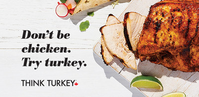 Don't be chicken. Try turkey. (CNW Group/Turkey Farmers of Canada (TFC))