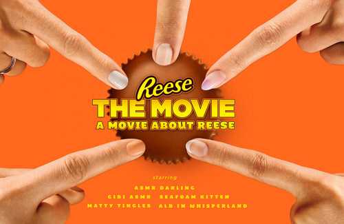 REESE Canada brings ASMR to the masses in first ever feature-length ASMR film: REESE The Movie: A Movie About REESE (CNW Group/Hershey Canada Inc.)