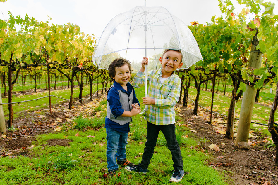 Exploring the vineyards is one of the ways kids enjoy California wine country. (Photo courtesy of Wine Institute)