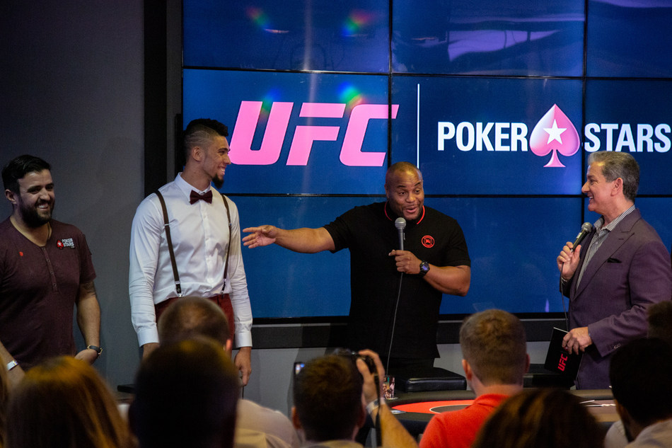 PokerStars announces new ambassadors at UFC® 237: NAMAJUNAS vs. ANDRADE