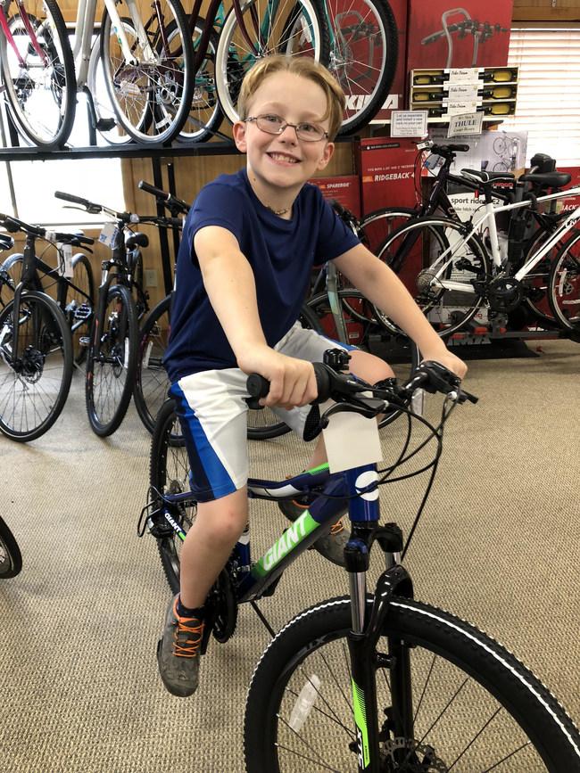 Newton, MA 2019 Bike Winner