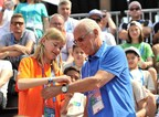 Gazprom International Children's Social Programme Football for Friendship Global Ambassador Franz Beckenbauer to Share Skills with Young Players from Around the World in Madrid