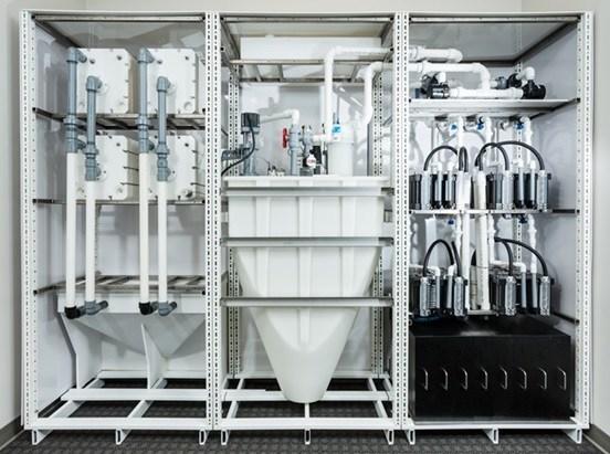 Figure 2. MGXR modular Energy Storage System (ESS) (CNW Group/MGX Minerals Inc.)