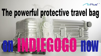 Nuidea launches new Indiegogo campaign: an anti-collision travel bag that offers protection for all valuables